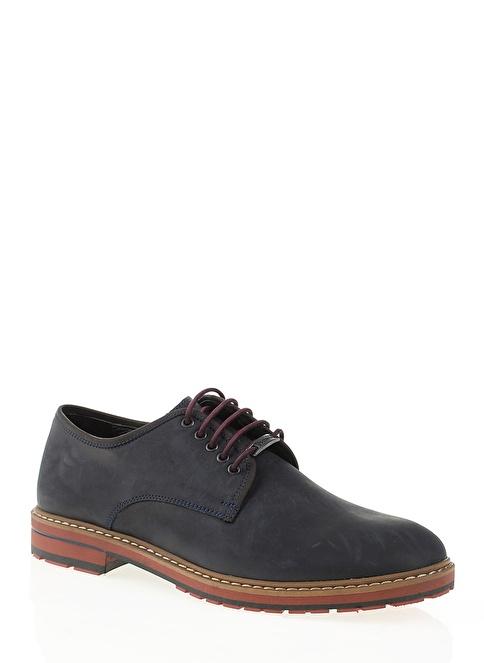 Dockers by Gerli %100 Deri Bağcıklı Ayakkabı Lacivert